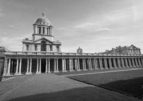 Instantánea de uno de los edificios de la zona de Greenwich en Londres