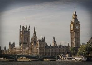 London...but blue sky